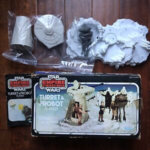 Vintage Star Wars Turret and Probot Playset with Original Box (Box Rough Shape)