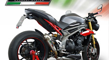 Triumph Speed Triple 1050/R Exhaust GPR Stainless Powercone  Road Legal 2016-