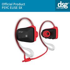 Auriculares bluetooth Psyc Elise SX resistente al agua Bluetooth Inalámbrico de deportes rojo