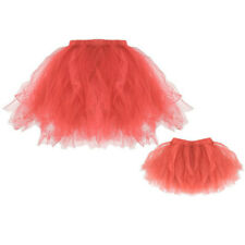 Mommy & Me High Quality Short Pleated Tutu Ballet Skirts Fancy Party Mini Skirt