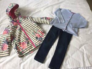 Girls Joules Jacket Bundle Age 3 Years