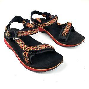 Teva Hurricane 6427 Outdoor Sport Sandal Ankle Strap Hook And Loop Womens 9