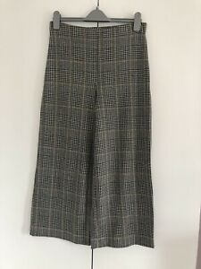 H&M Wide Leg checked Trousers M