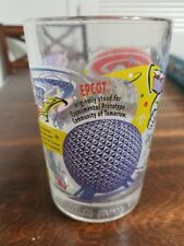Disney 100 Years of Magic Mcdonalds Cup Glass Epcot BuzzLight Year