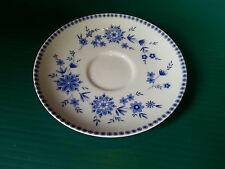 Seltmann Welden Bavarian Blue Porcelain Dinnerware: Christina: saucers