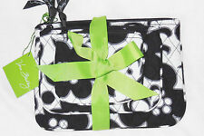 NWT Vera Bradley COSMETIC TRIO 3 Cosmetic Cases in NIGHT & DAY Small Med Large