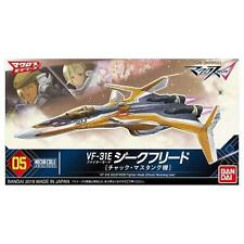 Bandai Mecha Collection Macross VF-31E SIEGFRIED Fighter Mode Chuck Mustang JP
