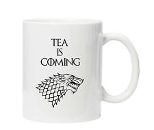 Game of Thrones Mug Cup Tea is Coming - Ideal Fun Birthday Present/Gift