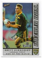 2001 Select Promotion Card (HR5) Brett KIMMORLEY