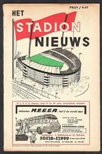 More details for european cup winners final football programme atletico madrid v tottenham 1963