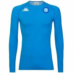Kappa Skin T-Shirts & Top Uomo KOMBAT NIRICH EURO 3 NAPOLI Calcio sport CNA