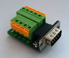 DB9 DSUB 9-pin Male Adapter RS-232 Breakout Board Connector (D13)