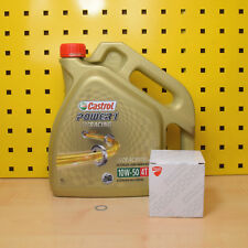 Ducati 999 749 Ölwechselset Öl Original Ölfilter Castrol Power1 Racing 10w50