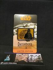 Disney Chewbacca Annual Passholder 2014 Sww Millennium Falcon Artist Signed