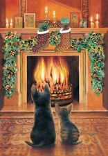 Jigsaw Puzzle Seasonal Christmas Cats Expectations 500 pieces NEW made in USA