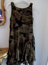Ralph Lauren camuflaje seda/Silk dress Mega hermosa 6 s 36 395 € 3383