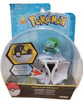 Tomy Pokemon Throw N POP Poke Ball Bisasam Bulbasaur + Ultra Ball Figure Set