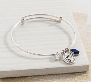 "NWT Silpada Sterling Silver ""Carpe Diem"" Charm Bracelet Adjustable Bangle B3211"