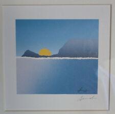 Sunrise Serigraphie d'Arthur Secunda 1927 ( USA)