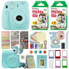 Fuji Instax Mini 9 Fujifilm Instant Camera + 40 Film Deluxe Bundle.