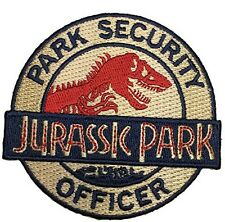 Jurassic Park Ranger Security Officer Logo HOOK Patch