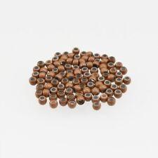 100 Marrón Claro Anillos Nano con Silicona para Extensiones de Nanorings