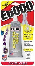 E6000 JEWELRY & BEAD Glue 4 Precision Tips precise no-mess application USA Made
