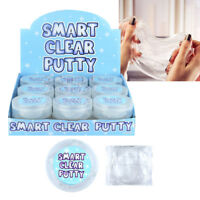 Smart Crystal Clear Slime Putty Liquid Glass Slime Stress Stocking Filler Toys