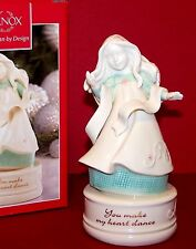NEW $80 In Box LENOX China GIFTS OF GRACE You Make My Heart Dance MUSICAL ANGEL