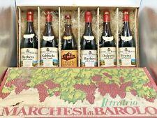 Marchesi Di Barolo Cassetta di Cartone Originale Vini Pregiati 6 Bottiglie