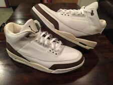 Rare Vintage 2001 Nike Air Jordan 3 III Retro White/Mocha Mens 11.5