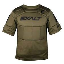 Exalt Paintball Alpha Chest Protector - Olive - Youth