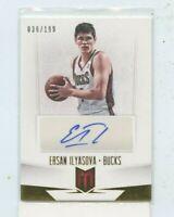 ERSAN ILYASOVA 2012-13 Panini Momentum Autograph Auto #D /199 Milwaukee Bucks