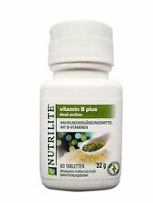 Original Amway NUTRILITE Vitamin B Plus B1 B2 B3-Niacin B6 Folsäure B12 D Biotin