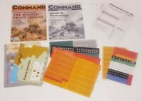 Command Magazine 34 The Russian Front vintage Military  Board Game Unpunched