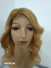 "10A Grade Remy Human hair  Real European 4*4 bodywave wig 12""in #30"