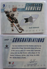 2003-04 BaP Memorabilla ASN-7 Alexei Kovalev 1/10 all star number PATCH
