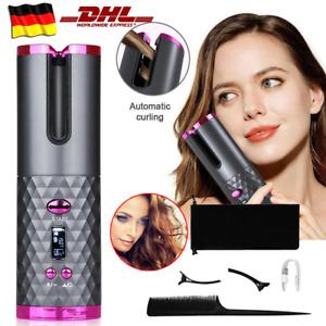 Automatischer Rotierender Locken Hair Curler Lockenstab Elektrisch Lockenwickler