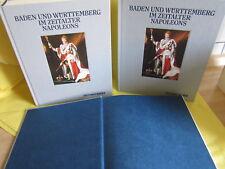 Baden & Württemberg im Zeitalter Napoleons Edition Cantz * alle 3 Bände wie NEU