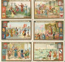 Chromo Liebig Sang. 513 TED Le Crociate II ANNO 1897