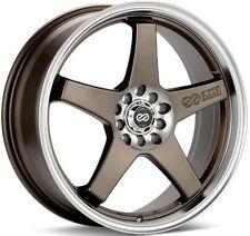 "ENKEI EV5 18x7.5"" Performance Wheel Wheels 5x100/114.3 5x105/110 ET38/45 Bronze"