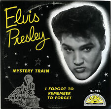"ELVIS PRESLEY  ""MYSTERY TRAIN'""      SUN RECORDS   RED VINYL"