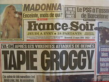 ▬► Journal France Soir 15/03/1995 Madonna Annie Lennox
