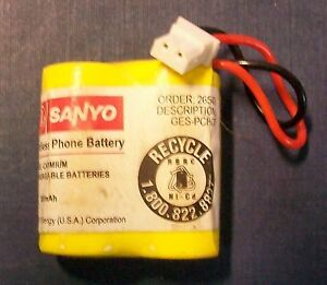 CORDLESS PHONE REPLACEMENT BATTERY FOR  GES-PCH07
