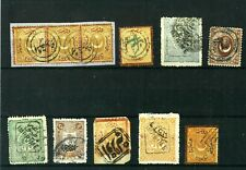 Turkey Ottoman Good set Old stamps VF used