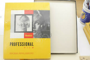 "EMPTY BOX 1969 Eastman Kodak 8x10"" Image of Woman Hair EMPTY VINTAGE Antique F01"