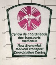 New Brunswick Medical Transport Coordination Centre Patch