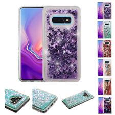 for Samsung Galaxy S10E Quicksand Liquid Glitter Hybrid Case Cover+PryTool
