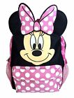 Disney Minnie Mouse Face Back to School Backpack 12