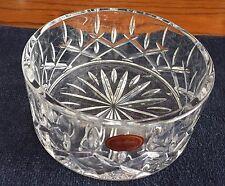 Vintage Gorham Lady Anne Glass Crystal Wine Bottle Coaster Made n Czech Republic
